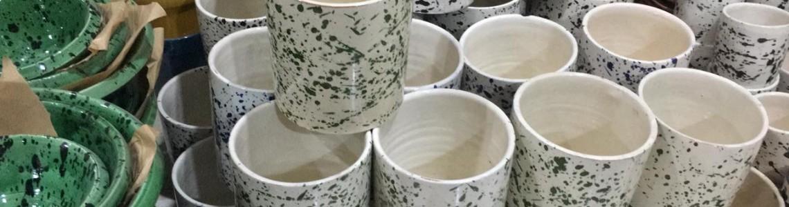 Ny gjord keramik