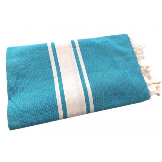 Handduk plate turkos