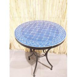 Mosaikbord blå 40Ø